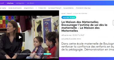 «La Minute de Véronique» – La Maison des Maternelles – 26 mai 2017