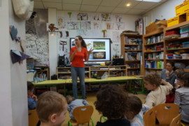 « Amy's Minute » – Mathilde Buratti, Specialist in Prehistory came to talk to us –  Tuesday the 9th of April 2019