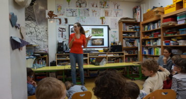 «Amy's Minute» – Mathilde Buratti, Specialist in Prehistory came to talk to us –  Tuesday the 9th of April 2019