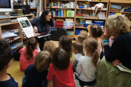 «La minute de Véronique-La visite de l'écrivaine Delphine Grinberg- vendredi 7 juin 2019