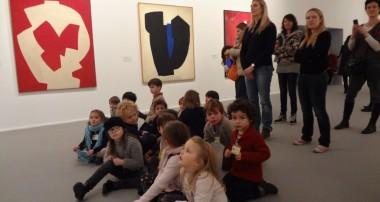 21 janvier 2014 – Sortie culturelle à la rencontre de Serge Poliakoff