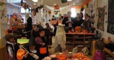 15 octobre 2013 – C'est Halloween à la Maison de l'Enfant