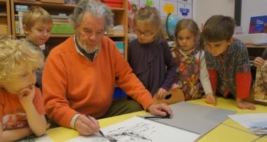 8 novembre 2013 – Rencontre avec Pierre Gillon, artiste peintre amoureux de la nature