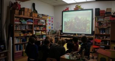 10 mars 2014 – rencontre en vidéo avec une école américaine