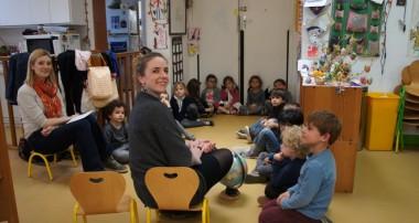10 avril 2014 – Visite de Pascale Leportier de Forest&Life