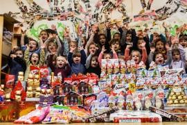 «La Minute de Véronique» – Les enfants s'engagent avec le Secours Populaire pour offrir un Noël aux enfants défavorisés du quartier- décembre 2016