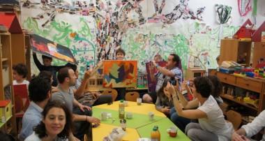 27 juin 2014 – Défilé des oeuvres des enfants sur le thème de Serge Poliakoff