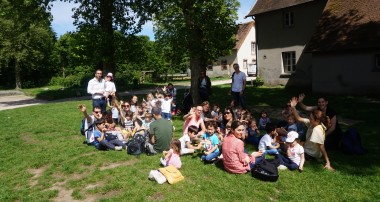« Amy's Minute » – Our School Outing to the Bergerie de Rambouillet – 23rd of May 2017