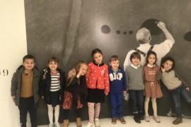 «La Minute de Véronique» – L'Exposition Miró  au Grand Palais avec les GS et les MS- vendredi 30 Novembre 2018
