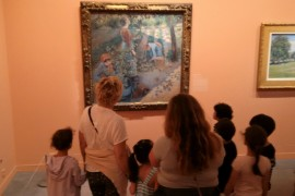 « Amy's Minute »- Pissaro Exhibition with the GS – 30th of May 2017
