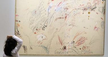 « Amy's Minute » – The Big and Middle Sections go to the Cy Twombly Exhibition at the Pompidou Center – 20th of April 2017-