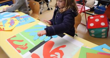 «La Minute de Véronique» mars 2021 Henri Matisse à La Maison de L'Enfant avec les GS et les MS