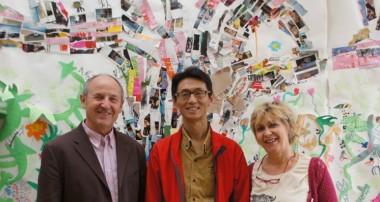 23 mai 2014 – Visite d'Etienne Colignon et de Will Zhang