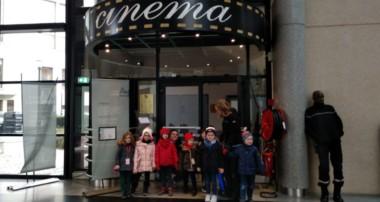 «La Minute de Véronique»-«Bonjour Le Monde» au Cinéma Landowski avec les MS et les GS- 12 décembre 2019